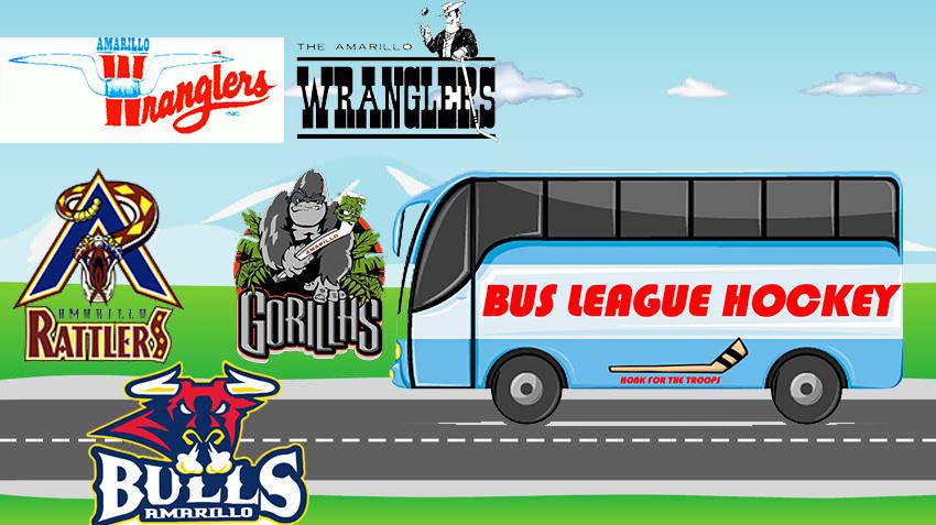 Hometown Hockey History Amarillo Texas Bus League Hockey