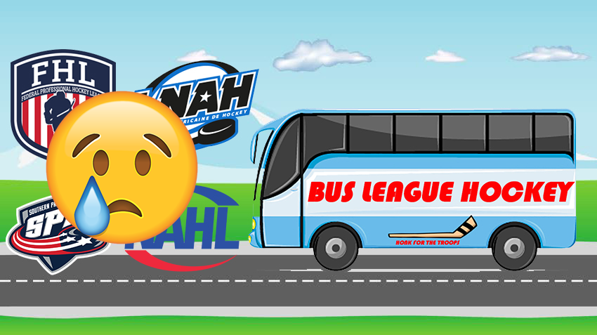 Usa Central Hockey League Bus League Hockey