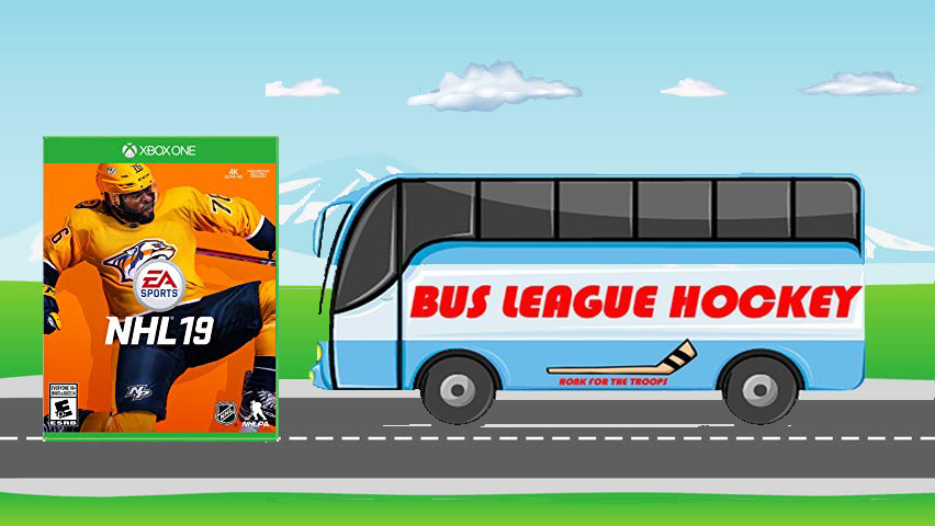 What Happened To All The Hockey Video Game Options Bus League Hockey